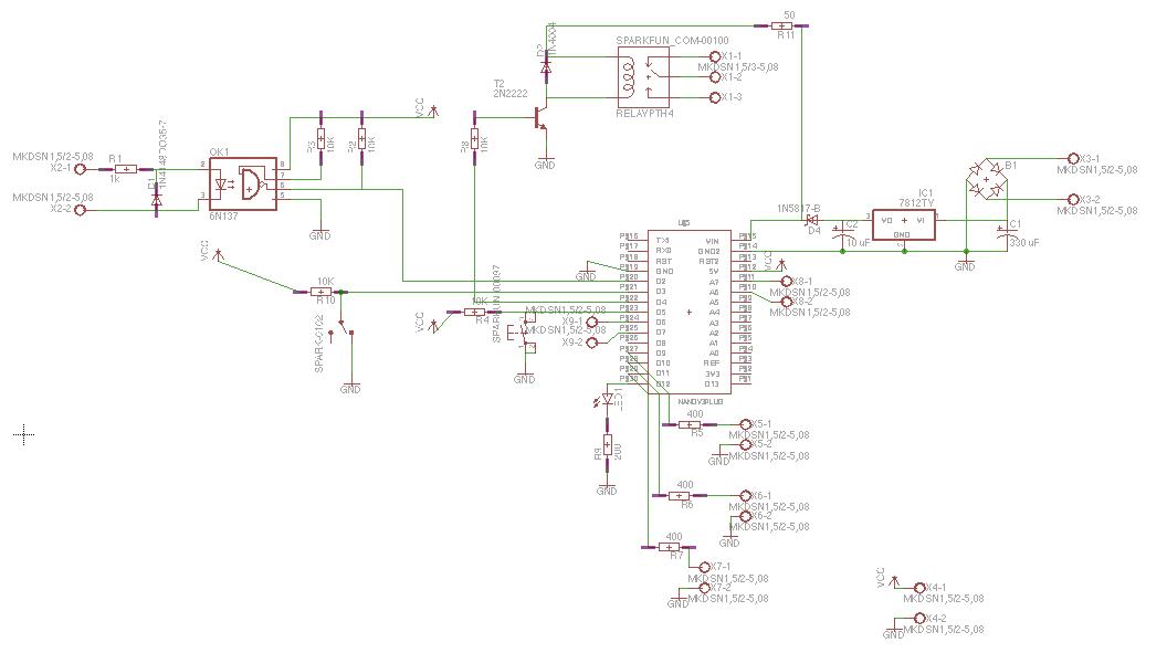 arduino dcc stationary decoder on